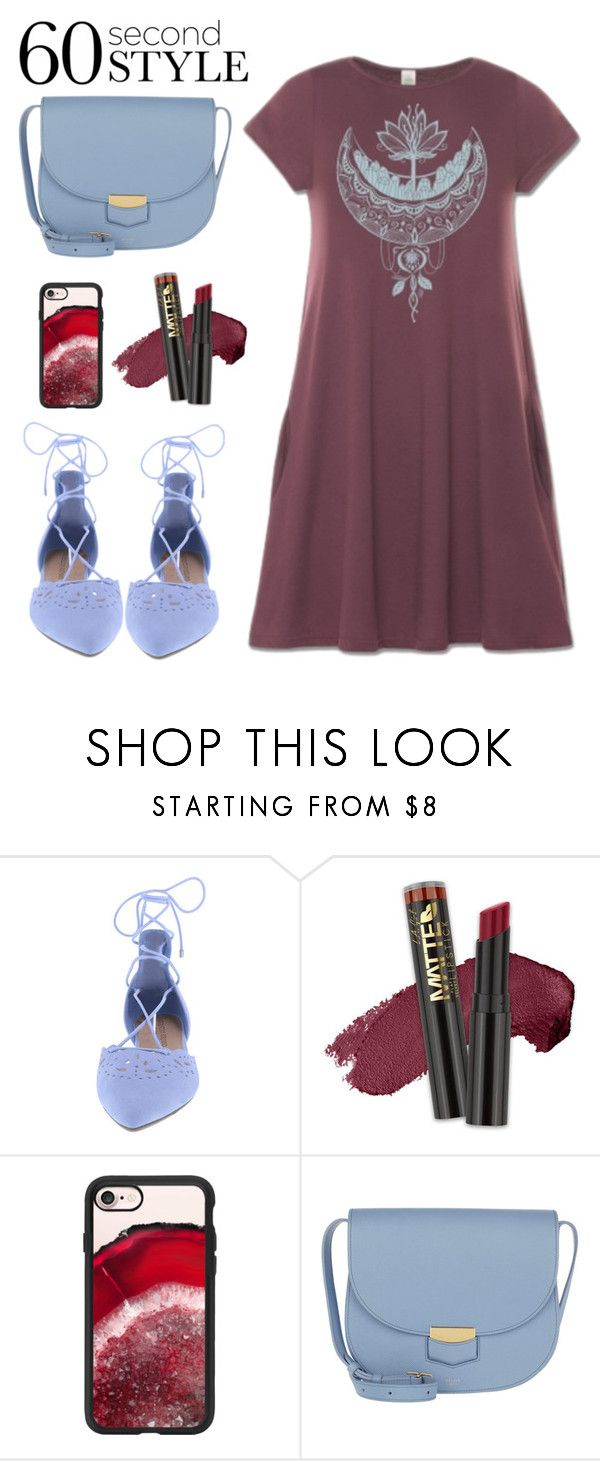 """""""60 seconds - T-Shirt Dress"""" by hardcore-alc ❤ liked on Polyvore featuring L.A. Girl, Casetify, CÉLINE, tshirtdresses and 60secondstyle"""