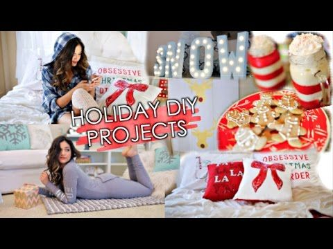 5 Holiday DIY Projects! Decorations i know i'm late but hey beth's back on making diy vids <3 <3 <3