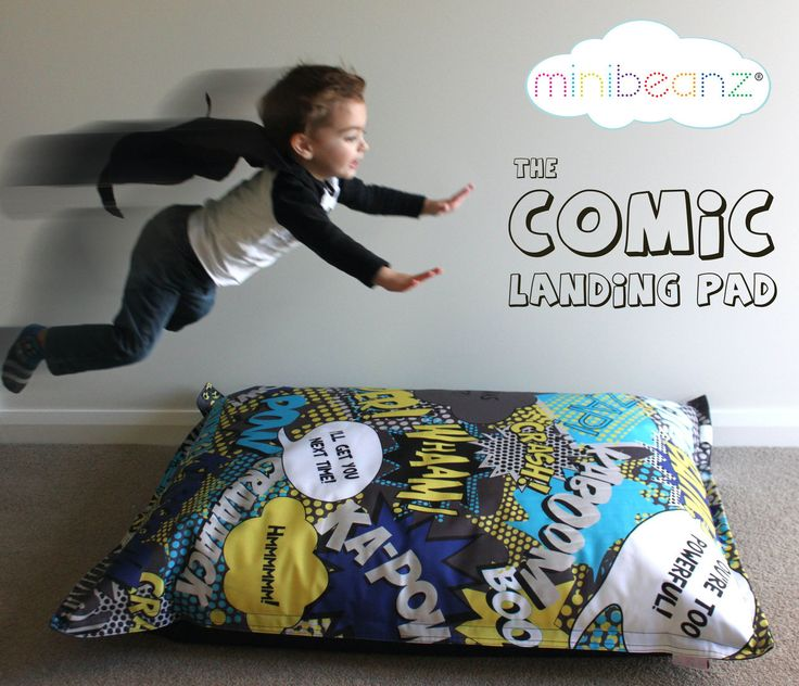 Mini Beanz - Comic Landing Pad, $90.95 (http://www.minibeanz.com.au/comic-landing-pad)