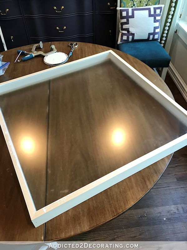 How To Make A Simple Diy Shadow Box Frame For Large Artwork With Images Diy Shadow Box Large Shadow Box Frame Shadow Box