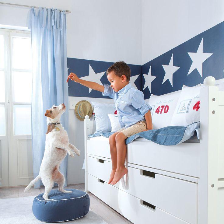 Vintage Gardinen Kinderzimmer Die sch nsten Ideen f r Gardinen im Kinderzimmer Annette Frank Casadeco