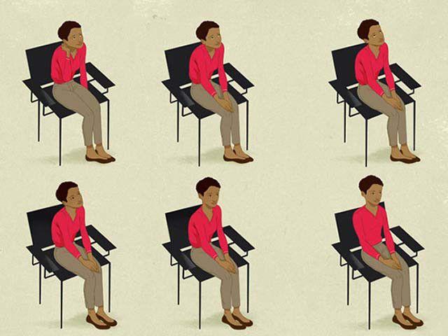 Jaga postur tubuh yang baik