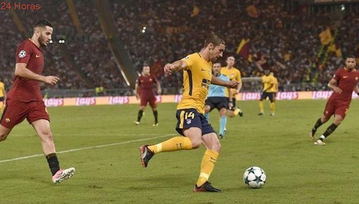 AS Roma y Atlético de Madrid repartieron puntos tras igualar por el Grupo C de Champions