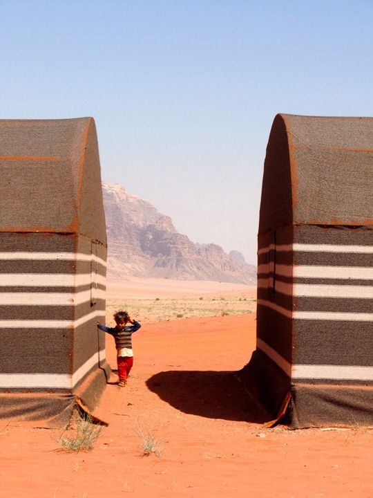 """Siobhan Pierce '16, who participated in the AMIDEAST Jordan program, named this photo of a young refugee """"Desert Boy, Wadi Rum Jordan."""" Global Education Photo Contest: Gallery   Dickinson College"""