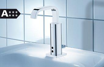 Allure E Mezclador de lavabo Infrarrojo electrónico con mezclador metálico