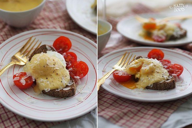 Яйца-пашот с голландским соусом (готовлю с помощью посуды iCookТМ) - HAPPYFOOD