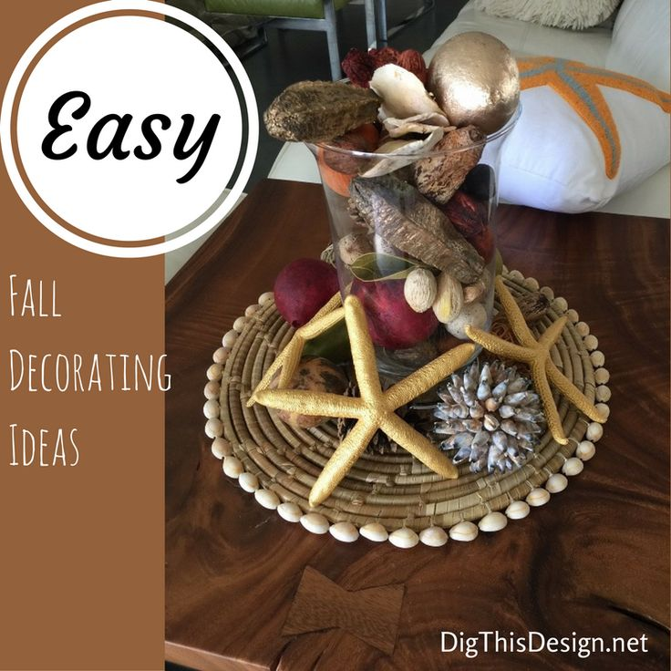 Fall decorating really gets me in the mood for the holidays. It is so easy to create fall table toppers that fit your personality and style.