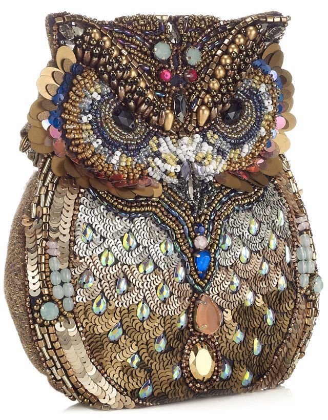 Oscar The Embellished Owl Bag