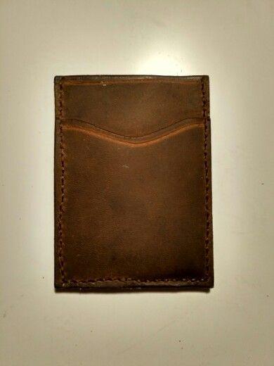 Leather Card Holder, portfel