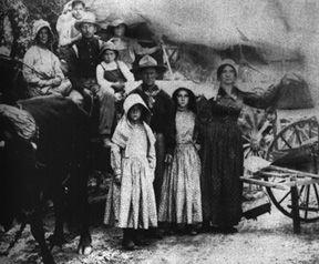Photo of pioneers circa 1847