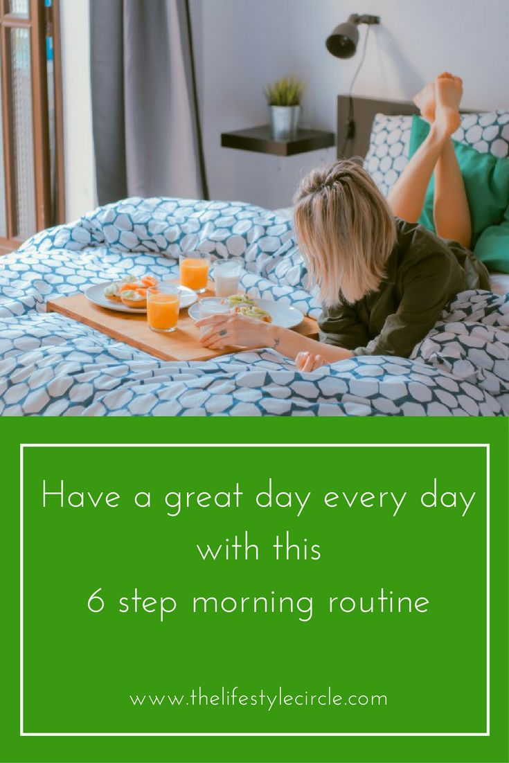 If you want to have a great day every day then you need a morning routine. This is the 6 step routine that I follow. Try it, it will transform your days.