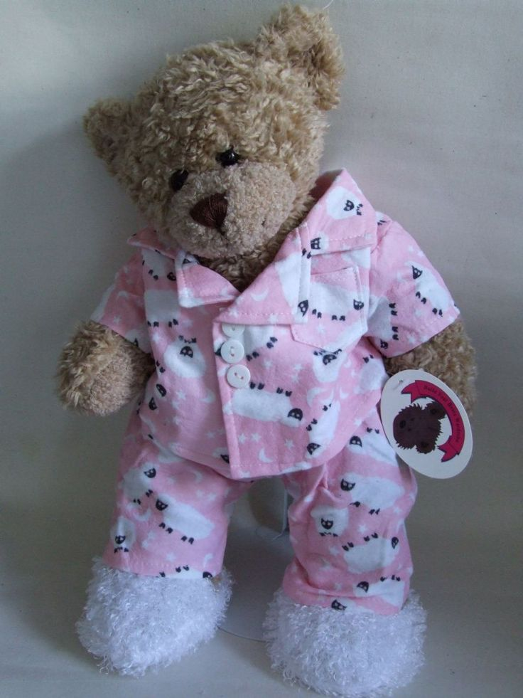 53 Best Teddy Bear Clothes Images On Pinterest