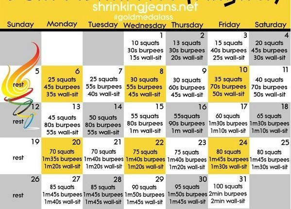 How To Tone Up In A Month: 1 Month Toned Butt Exercise Plan