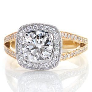 173 best halo engagement rings images on