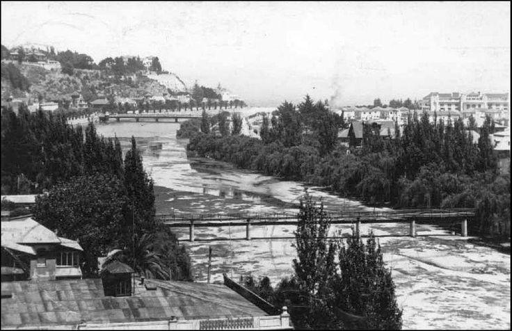 Otra imágen del Estero Marga-Marga en el año 1938