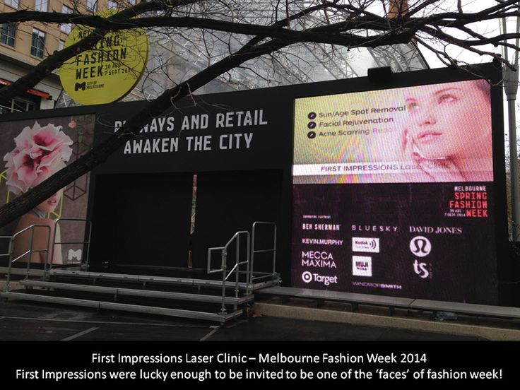 First Impressions were lucky enough to be one of the leading companies in Melbourne on display at Melbourne Fashion Week!