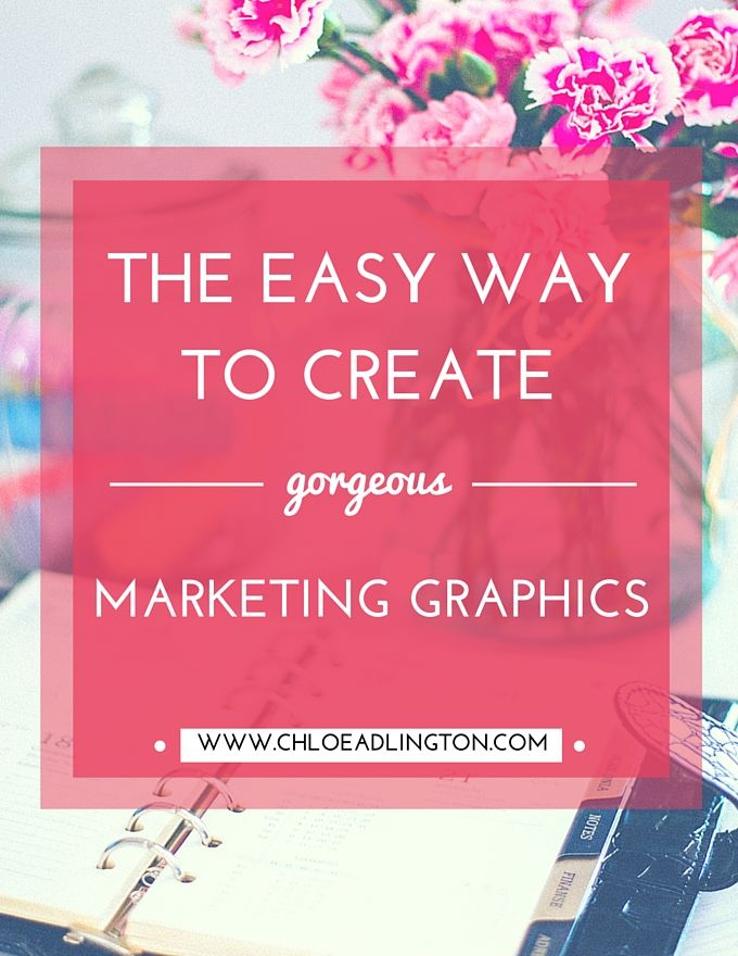 It's amazing how many skills you need to  master as a business owner or  blogger just to feel like you're keeping up isn't it?! Never fear though,  if being a design guru isn't listed on your cv this post is for you!  There is an easy (and free!) way to make gorgeous graphics for your  website, blog posts, social media posts and other marketing materials and  it's a little tool called Canva. It's basically a free, online website  which is perfect if you don't have the time to learn how to…