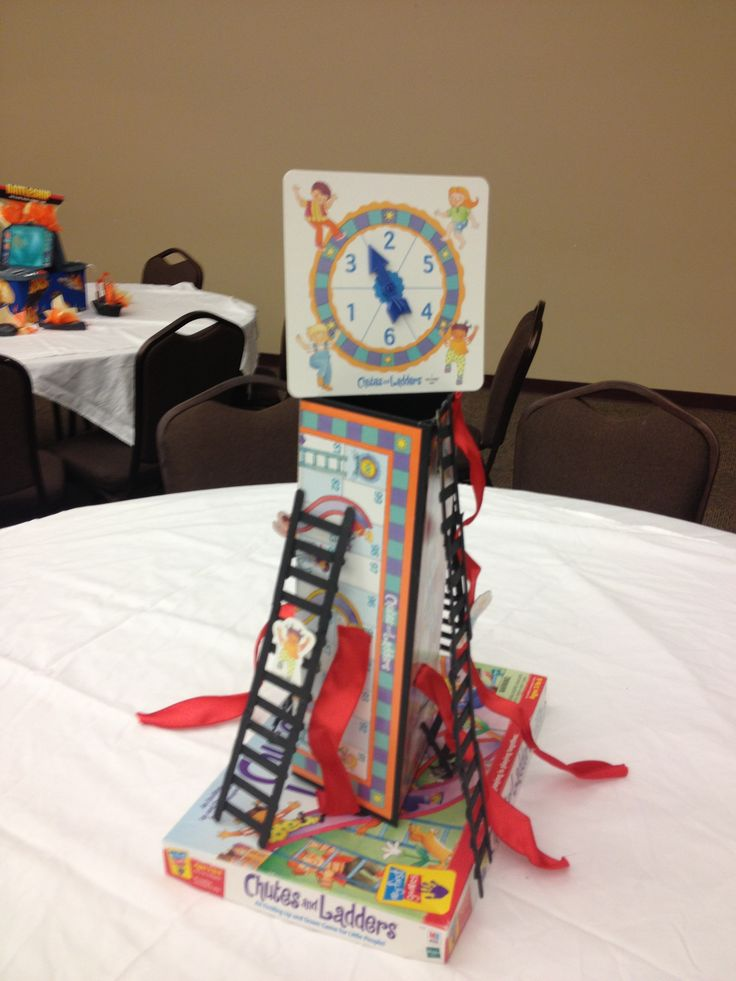 Chutes And Ladder Game Centerpiece Monopoly Amp Game
