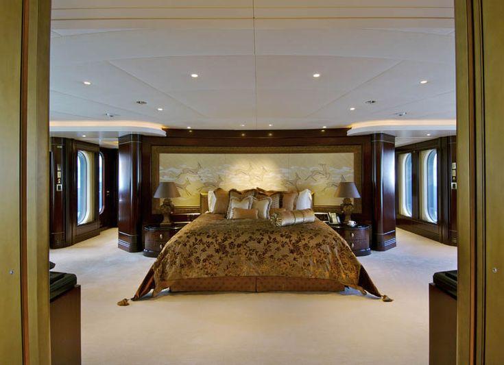 223-foot long super yacht Kismet: Luxury Yachts, Pleasures Yachts, Mega Yachts, Interiors Design, Master Bedrooms, Yachts Interiors, Dreams Yachts, Interiors Cabins, Super Yachts