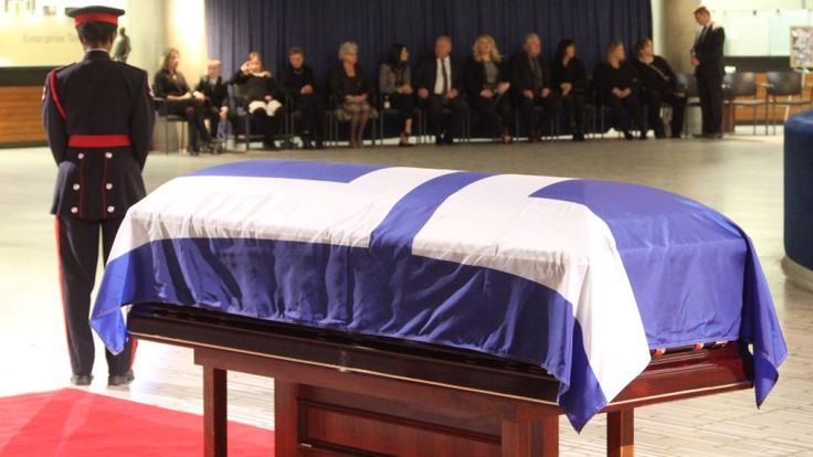 Rob Ford lying in repose starting today at Toronto City Hall:  Mourners pay tribute to former mayor, councillor  (CBC News 28 March 2016)