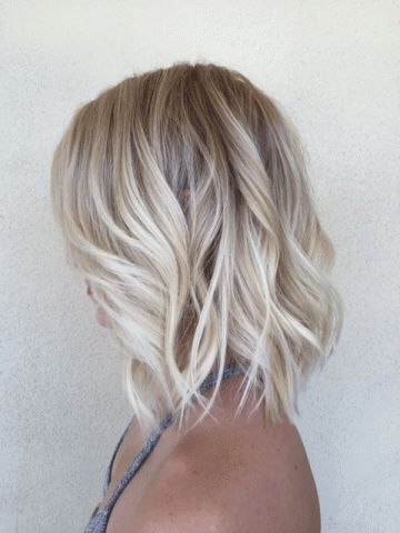balayage, blonde hair, curls, girl, grey hair, hair, long hair