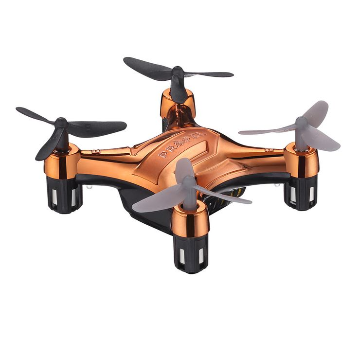 Propel Flek Micro Drone Indoor / Outdoor Wireless Quadcopter, Orange