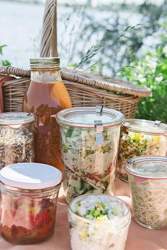 #picknick #salad   Dille & Kamille