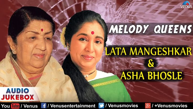 Enjoy Lata Mangeshkar's Superhit Song Collection : http://bit.ly/2bnALHG For More Hits of Asha Bhosle : http://bit.ly/2bXl7OO Evergreen Duets of 90's : http:...