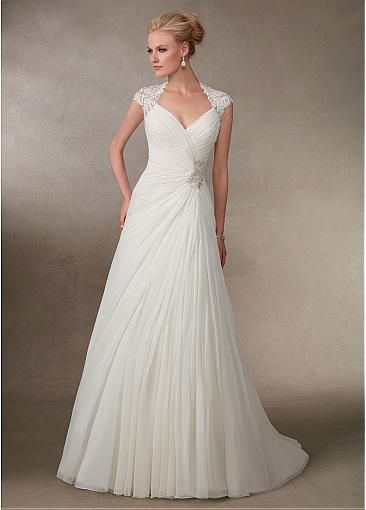 Wedding Dresses For Queens : Best ideas about queen anne neckline on