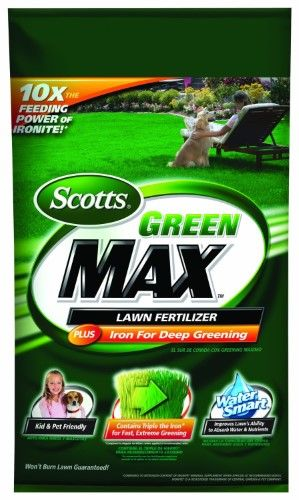 Green Max Lawn Fertilizer 20 0 2 Covers 5 000 Sq Easy Gardener 44615a Lawn Fertilizer Scotts Lawn Lawn