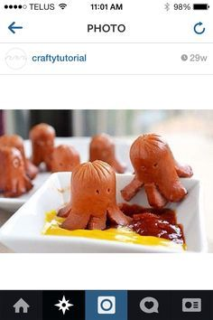 Tee hee this is a great idea if your babysitting to get kids to eat their food!