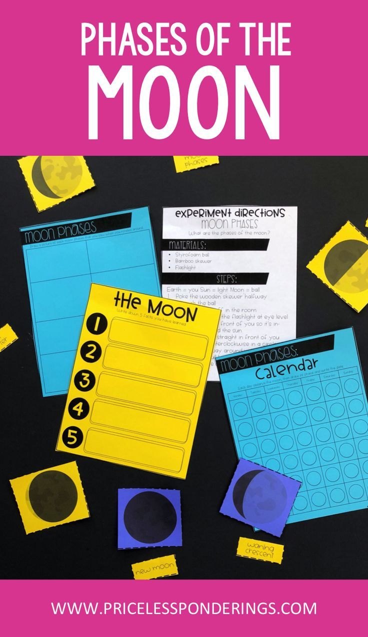 Moon Phases Worksheets And Activity Pack Interactive Science Notebook Science Teaching Resources Critical Thinking Activities [ 1274 x 736 Pixel ]