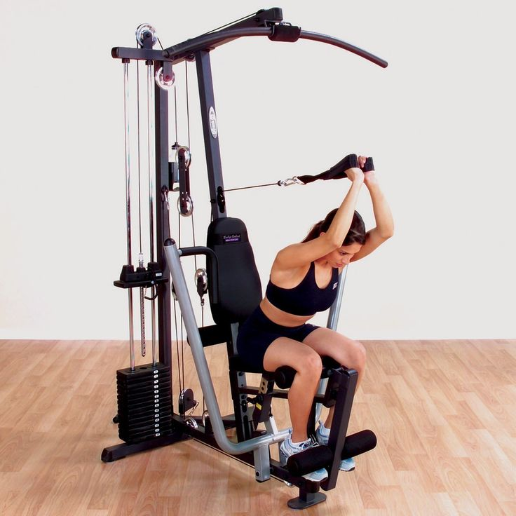 Top Exercise Equipment: Amazon.com : Body-Solid G1S Selectorized Home Gym : Sports