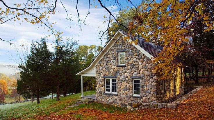 Beautiful Stone Cabins And Cottages Charming Rustic