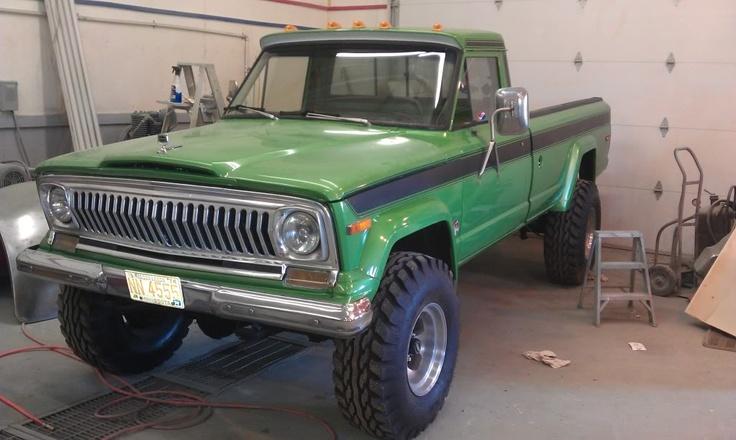 24 best images about jeep j20 on pinterest jeep pickup for Garage jeep villeneuve d ascq