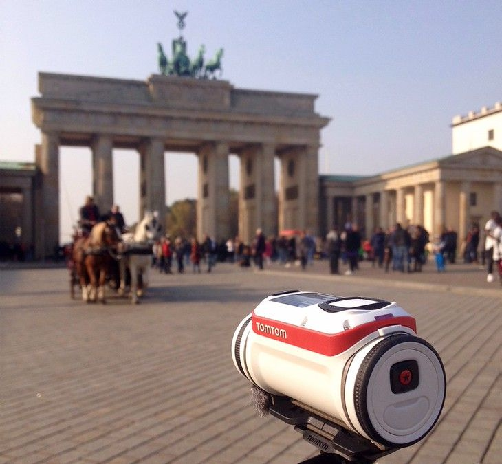 Review of the TomTom Bandit Action Camera: Berlin by Bike [VIDEO]