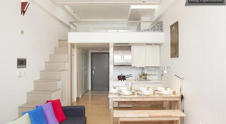 Apartment Kang's Duplex @ Seoul Station, South Korea - Booking.com