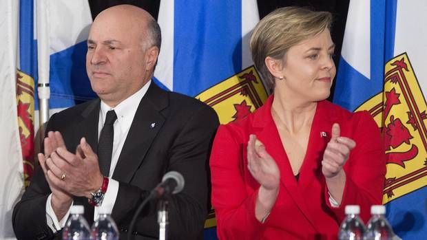 In debate debut, Kevin O'Leary is his own favourite topic - Feb 5, 2017 -  The Dragon's Den and Shark Tank star enters the political arena, striving in Halifax to sell his self-centred approach to national issues