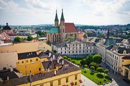 St  Moritz cathedral in Kromeriz - Czech Republic