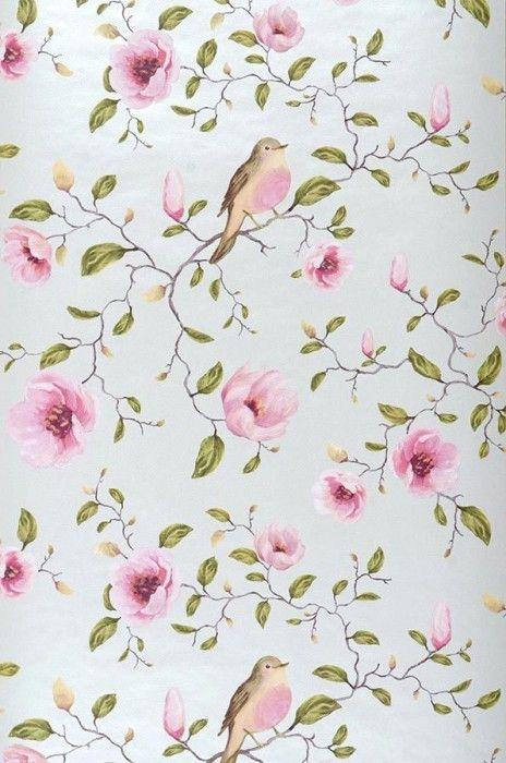M s de 25 ideas incre bles sobre papel de parede romantico - Papeles pintados romanticos ...