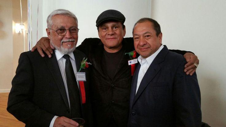 Rafael Mendoza, Roberto Durán y Alberto Reyes, Hall of Fame 2016. #CletoReyes #RobertoDuran #boxing