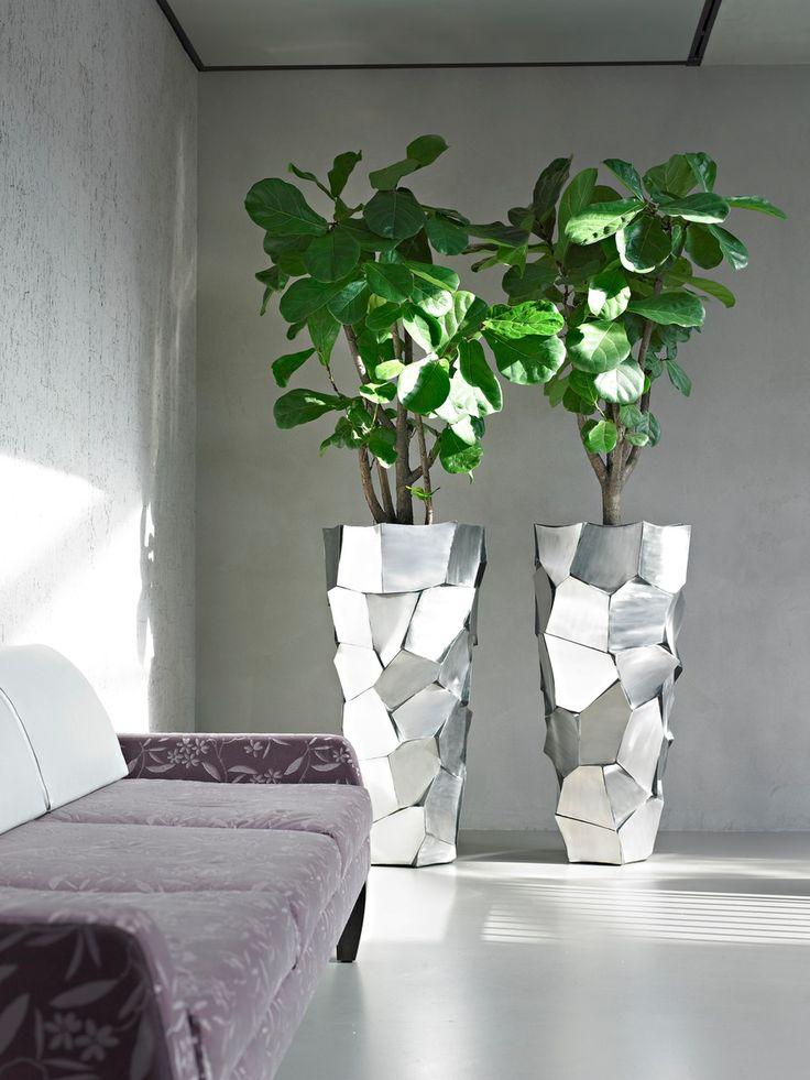 396038 Capri Vase Large In 2019 Large Indoor Planters Indoor Planters Office Plants