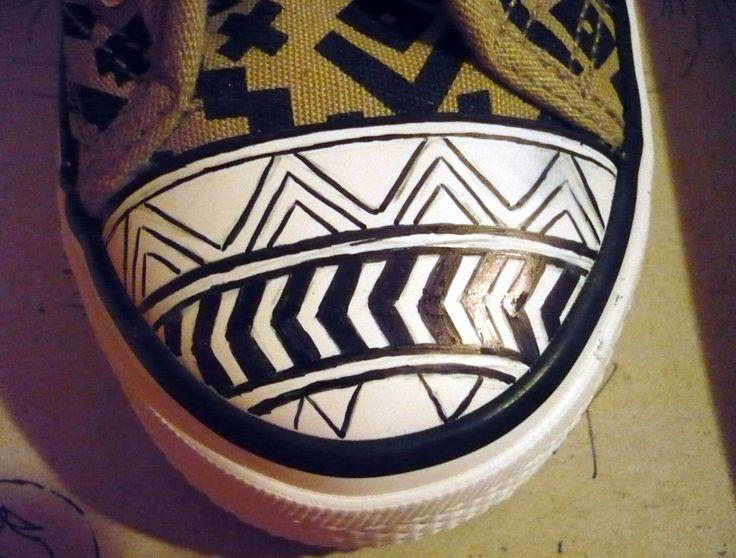Aztec pattern making by me