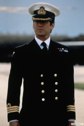 Every girl needs a handsome Naval Officer in her life ...