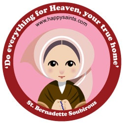 Saint Snacks - Cute graphic to put on a bag of pretzel rods (firewood)