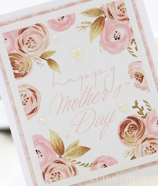 Mimowolne Zauroczenia. Kartki dla Mam, Dzień Matki