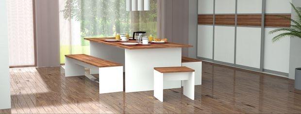 7 besten tische nach ma bilder auf pinterest schreibtische einrichtung und geplant. Black Bedroom Furniture Sets. Home Design Ideas