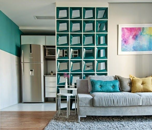 20 Cozinhas e salas integradas e pequenas – veja ótimas ideias para apartamentos!