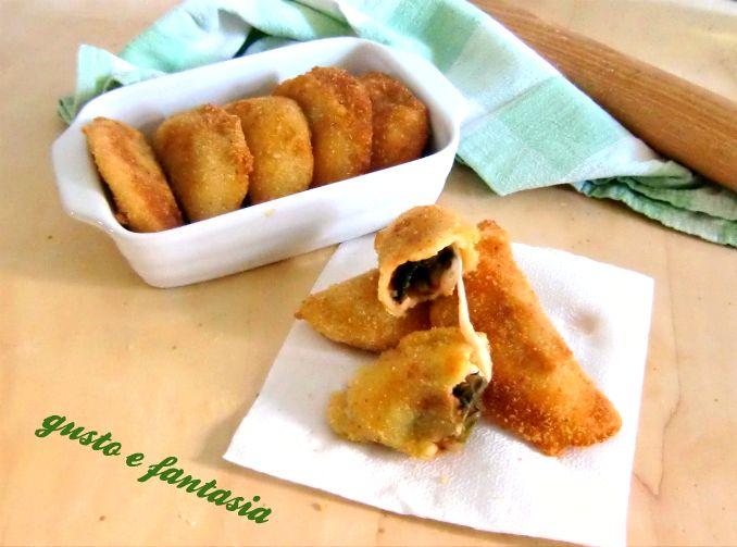 Isofficiotti con bieta alici e mozzarella sono un ottimo secondo piatto. Semplici e gustosi, si possono accompagnare con un'insalata di pomodoro.