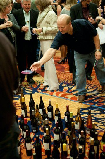 Wine Toss!